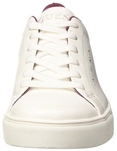 White White Guess Active Baskets Blanc Homme Man YXrqY