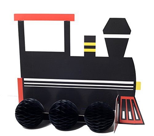 Faerynicethings Railroad Party Ware Separates - Railroad Train (Train Centerpieces)