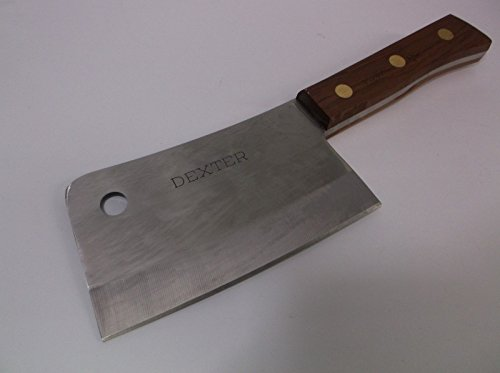 Dexter Russell Traditional 7'' Stainless Heavy Duty Cleaver 08220 S5287 Heavy Duty Professional Butchers Cleaver by The Chef Shops (Image #1)