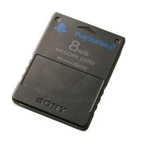 Memory card PS2 memoria para Consola PlayStation 2 8MB ...