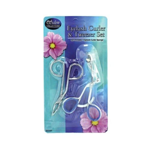 JT Cosmetics Eyelash Curler and Tweezers Set - 24 Pack