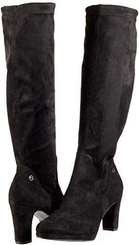 black 21 Tamaris Bottes 25522 Hautes Femme 1 Noir wPxZS4Yxq5