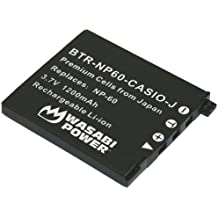 Wasabi Power Battery for Casio NP-60, NP-60DBA and Casio Exilim EX-FS10, EX-S10, EX-S12, EX-Z9, EX-Z19, EX-Z20, EX-Z21, EX-Z25, EX-Z29, EX-Z80, EX-Z85, EX-Z90
