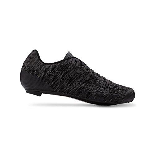 Zapatillas De Ciclismo De Punto Giro Empire E70 - Hombre Negro / Brezo De Carbón