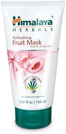 Himalaya Refreshing Fruit Mask with Papaya and Crab Apple for Normal to Dry Skin 5.07 oz (150 ml)