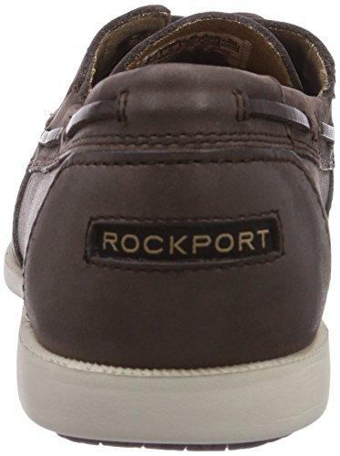 Rockport 2-EYE - Náuticos de cuero hombre marrón - Braun (DK BROWN)