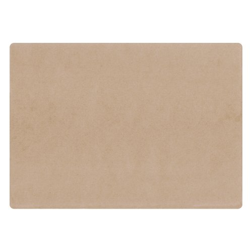 Edge Paper Placemat (Hoffmaster 702080 Kraft Straight Edge Placemat Natural, 10