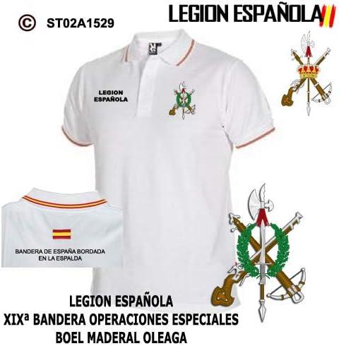 Bazardelalegion Polo Legion Española (XXL): Amazon.es: Ropa y ...