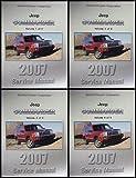 2007 Jeep Commander Repair Shop Manual Original 4 Vol. Set