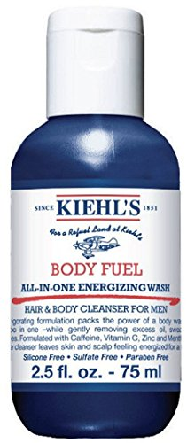 KiehI's Body Fuel All In One Energized Wash Deluxe Travel Size