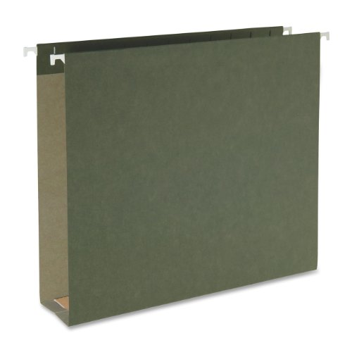 Green Box Bottom Hanging - Smead 100% Recycled Box Bottom Hanging File Folder, 2