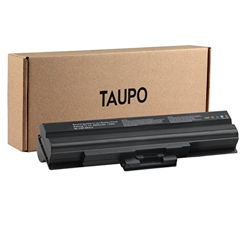 Taupo New Laptop Battery For Sony Vaio Vgn Vgp Bps21a  Vgp Bps13b Q  Vgp Bps13 B  Vgp Bps13b B  Vgp Bps13  Vgp Bps13a  Vgp Bpl13  Li Ion 9 Cell    12 Months Warranty
