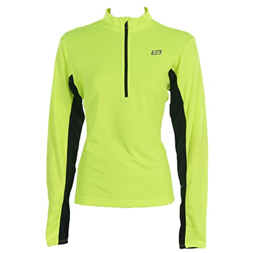 Bellwether Women's Tempo Jersey, Hi-Vis, X-Large