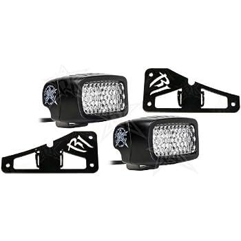 Amazon Com Rigid Industries Jeep Jk Led Backup Light Kit