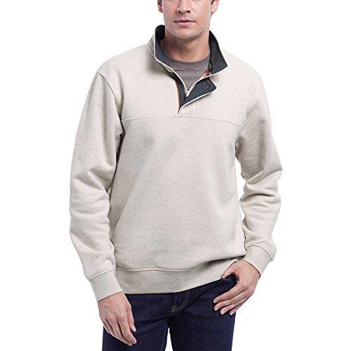 Orvis Mens Signature Pullover (Tan, M)