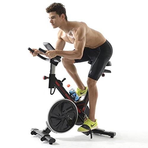 Fitleader FS1 Stationary Exercise Bike Indoor Fitness Workout Upright Gym Cycling