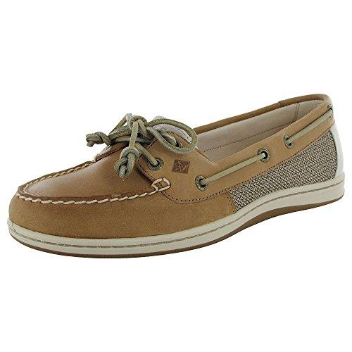 Sperry Top-Sider Women's Firefish Core Linen/Oat Boat Shoe 9.5 M (B)