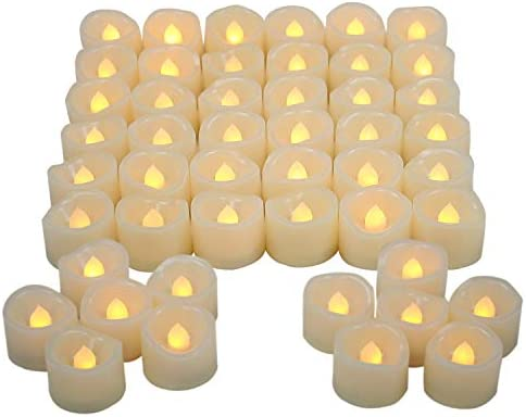 Flickering Flameless Candles Decorations Birthday product image