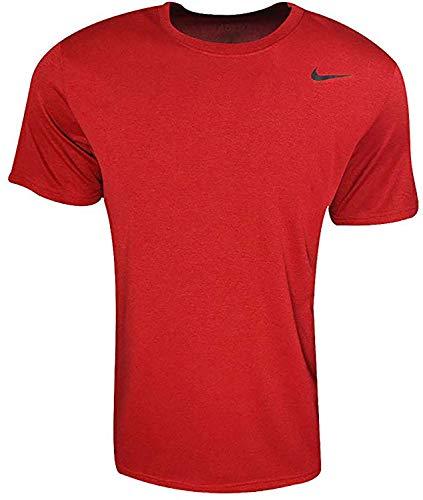 Nike Legend 2.0 Short Sleeve T-Shirt (Large, GYM RED)