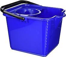 Addis - Cubo para fregona (12 litros), Color Azul