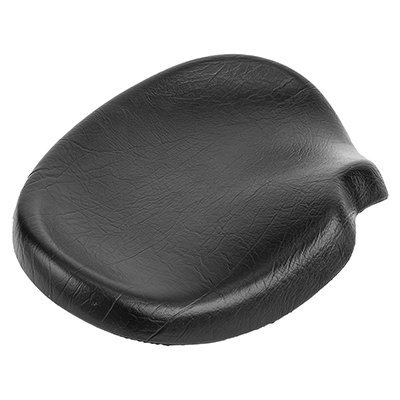 (Sun Bicycles Trike Western Saddle with Harware, 16x12in, Black)