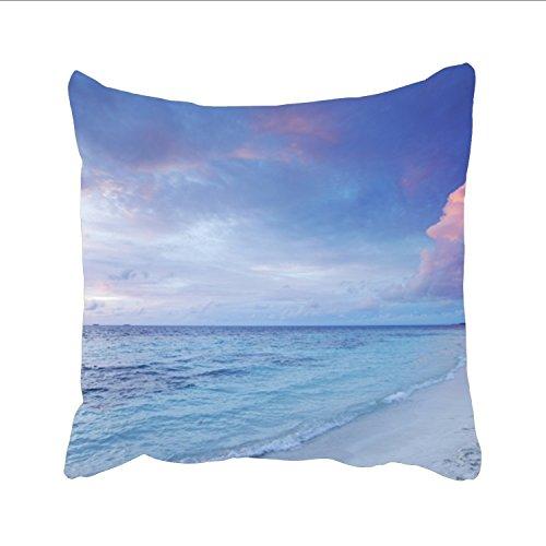 Ranhkdn Beautiful Seaside Christmas Pillow Shams £¬Nice Choice For Kids Boys Christmas Teens Bar Seat Girl (White Cushion Chicago Sox Seat)