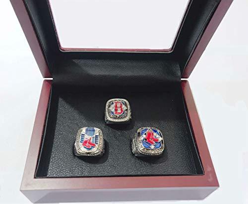 2018 World Series Ring - YIYICOOL BT N 2004 2007 2013 red Sox championship ring Display Box Set