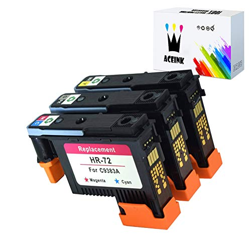 - AceInk 3X HP72 Printheads with New Updated Chips Compatible for HP Designjet T610 T620 T770 T790 T1100 T1120 T1200 T1300 T2300