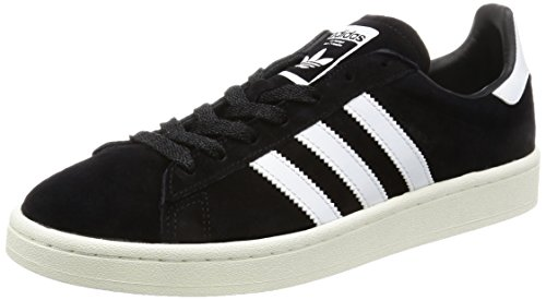 adidas Campus, Zapatillas para Hombre Negro (Core Black / Footwear White / Chalk White)