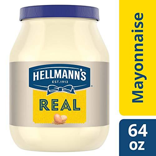 Hellmanns Mayonnaise, Real, 64 oz