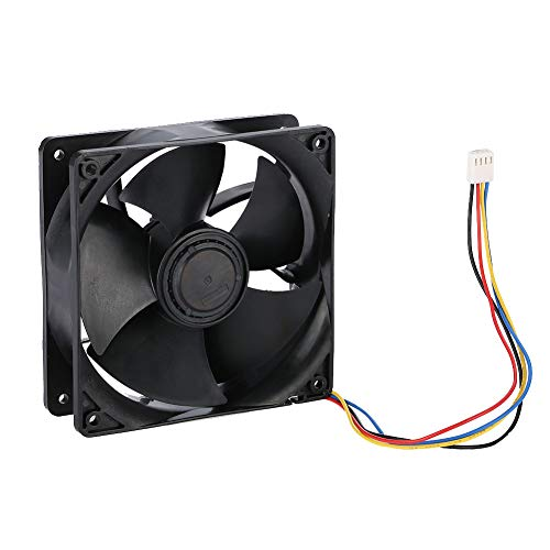 Acogedor 7000RPM Cooling Fan for Antminer S7 S9 Mining High Precision Dual Ball Bearing 4 PIN Cooling Fan for Antminer,Wind-Force up to 250.3CFM-Support PWM Speed Control Function by Acogedor