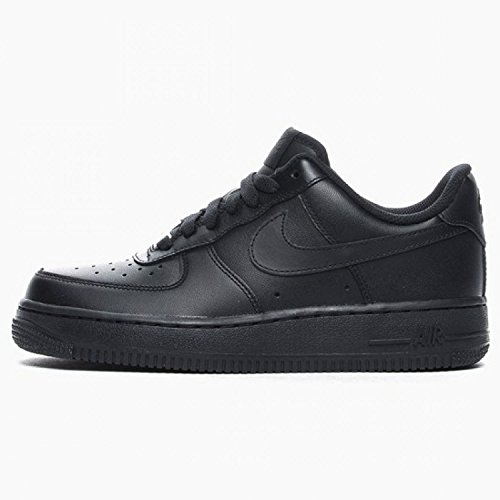 NIKE Wmns Air Force 1 07 Low af1 Women Lifestyle Casual Shoes New Black - 9