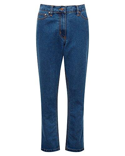 "Wholesale Cotton Traders Unisex Womens Ladies Mens Zip and Button Denim Jeans Leg Size 29"" for sale"
