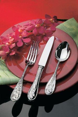- Ricci Flatware Japanese Bird And Bamboo Teaspoon