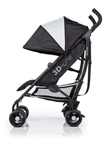 Summer Infant 3D-one Convenience Stroller, Eclipse Gray by Summer Infant (Image #11)