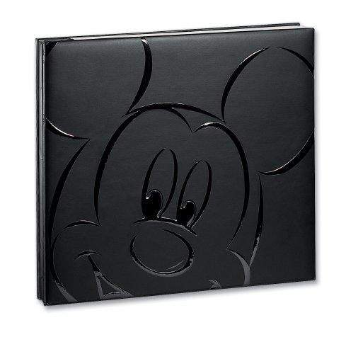 Embossed Mickey Postbound Album (Disney Black Mickey 8-by-8)