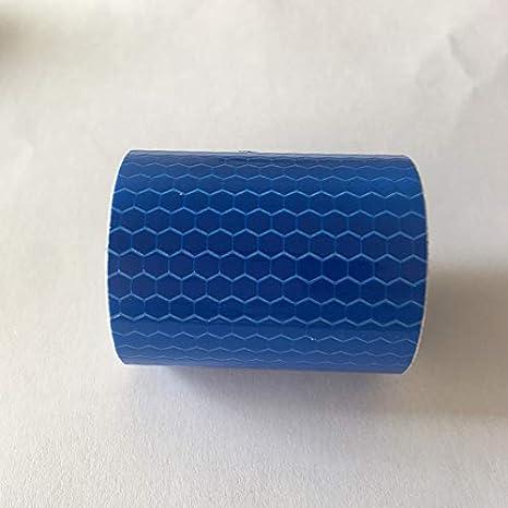 Hi Collie Sicherheits-Klebeband aus Vinyl, hohe Intensitä t, prismatisch reflektierend, selbsthaftend, 5 Stü cke, 3m x 50mm (Gold) HiCollie
