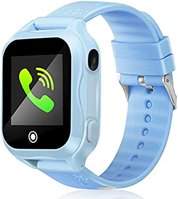 DUIWOIM Smart Watch for Kids IP67 Waterproof Kids Smart Watch for Girls Boys with GPS Tracker SOS Camera Game 1.44 inch Touch Screen Sport Fitness ...