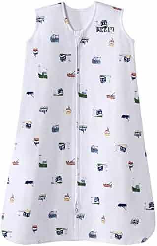 Halo Sleepsack Cotton Wearable Blanket, Nautical Tug Boats, Medium
