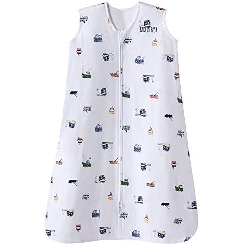 Halo Sleepsack Cotton Wearable Blanket, Nautical Tug Boats, Small ()