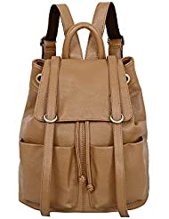 Mellow World Fashion Sarah Backpack, Latte, One Size