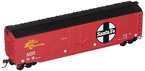 Bachmann Trains Santa Fe 50' Plug-Door Box Car Bachmann 50' Plug Door Box