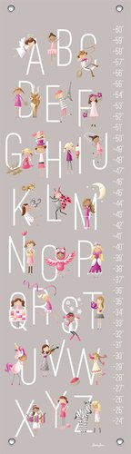 Oopsy Daisy Growth Chart, G is for Girls, 12'' x 42'' by Oopsy Daisy