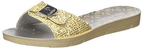 Inblu ME000011, Zapatillas Mujer Dorado (Platino)