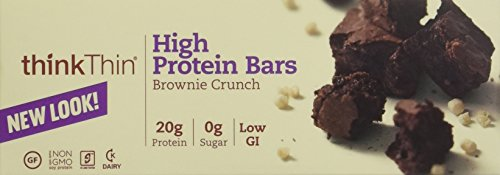 ThinkThin Brownie Crunch (Pack of 10) , 2 Pack