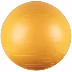 Gym Ball - Pelota de pilates (85 cm), color amarillo