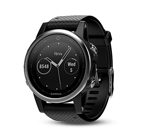 Garmin fenix 5S (Silver with Black Band) GIFT BOX Bundle | Includes HD Screen Protector, PlayBetter USB Car/Wall Adapter & Hard Case | Multi-Sport GPS Fitness Watch, Wrist-HR | Black Gift Box by PlayBetter (Image #2)