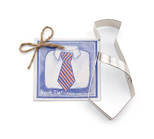 Neck Tie Cookie and Fondant Cutter - Ann Clark - (Fathers Day Tin)