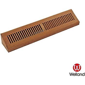Welland 15 Inch Brazilian Cherry Hardwood Vent Baseboard