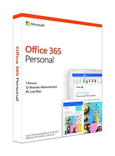 Microsoft Office 365 Personal (nu Microsoft 365 Single) meertalig | 1 gebruiker | meerdere pc's/Mac's, tablets en…